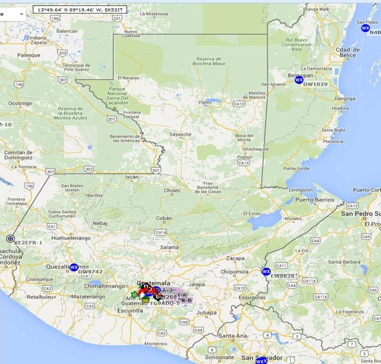 visual mapa estaciones aprs